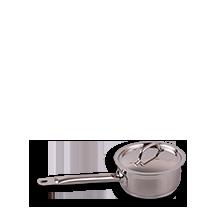 Stielkasserolle + Deckel 16cm, 1,4l